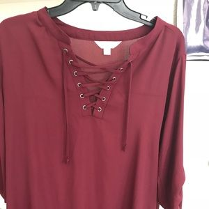 New with tags Decree XL rayon blouse